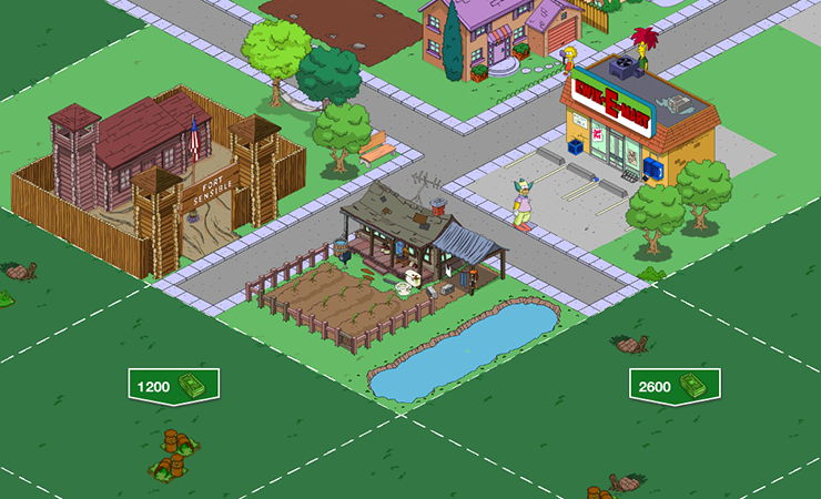 Expanding the town of Springfield can be a goal to track for.
