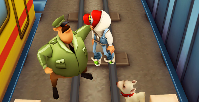 This is the key moment of Subway Surfers when players reach for their wallets.