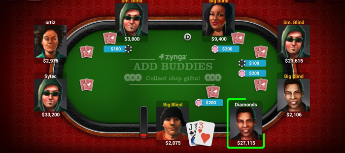 Poker looks fun, until you realize that you're paying for the right to play, and you can't actually win anything.