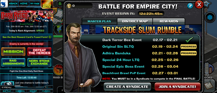 More example events