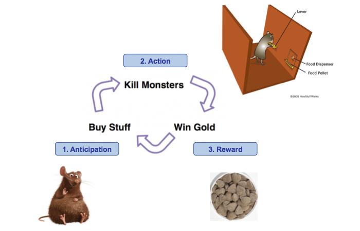 Anticipation Action Reward
