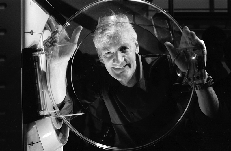 Dyson founder James Dyson. Photographed by Michiel Hendryckx, used under license.