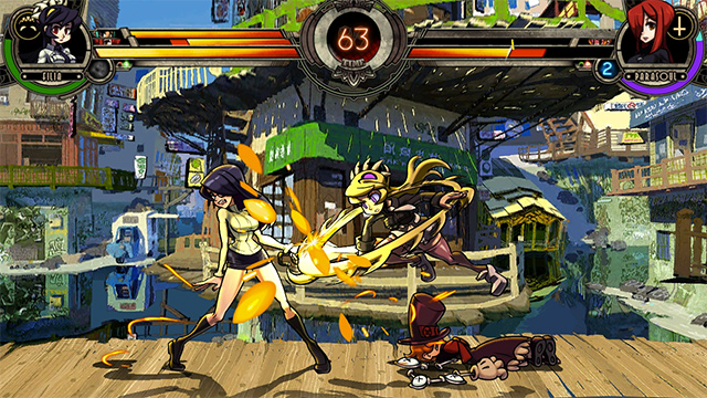 Skullgirls, a game adapted to blind users