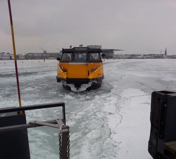 Frozen Water in Copenhagen
