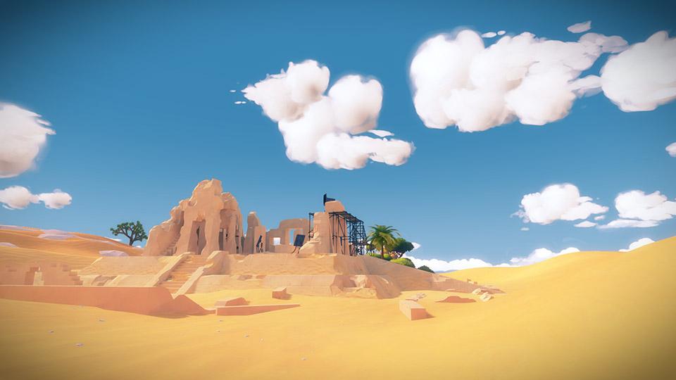 The Witness desert screenshot