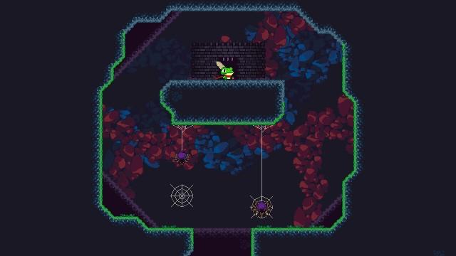 Frog Sord, an abandonned 2d platformer, screenshot