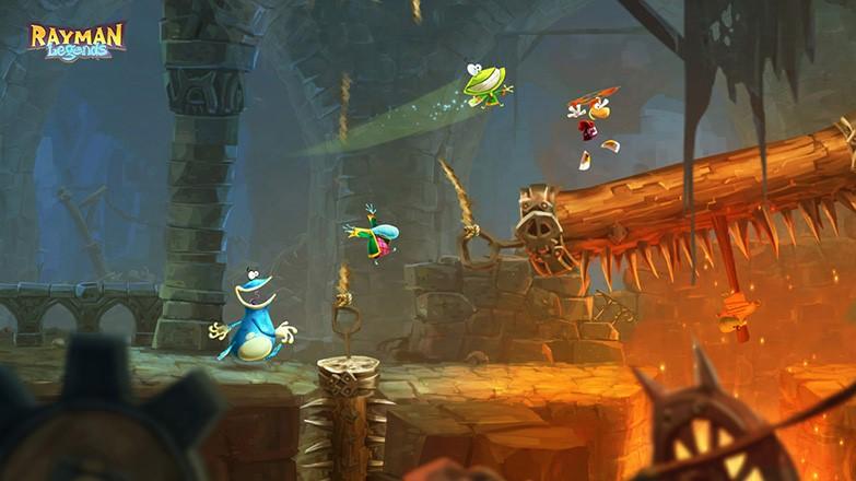 Rayman legends castle interior screenshot