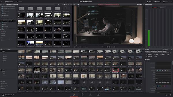 DaVinci Resolve Video Editor