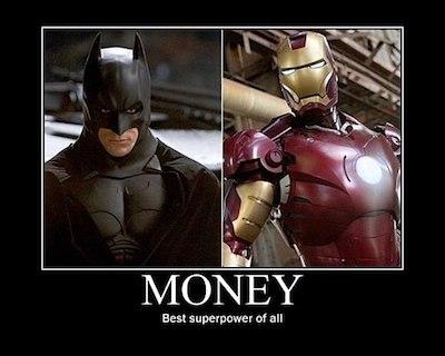 Money Batman Superpower