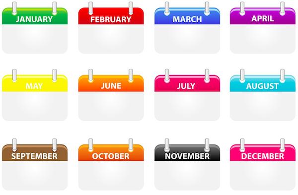 Marketing calendar