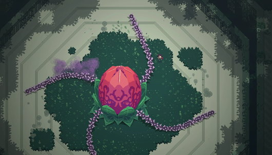 Screenshot from Titan Souls