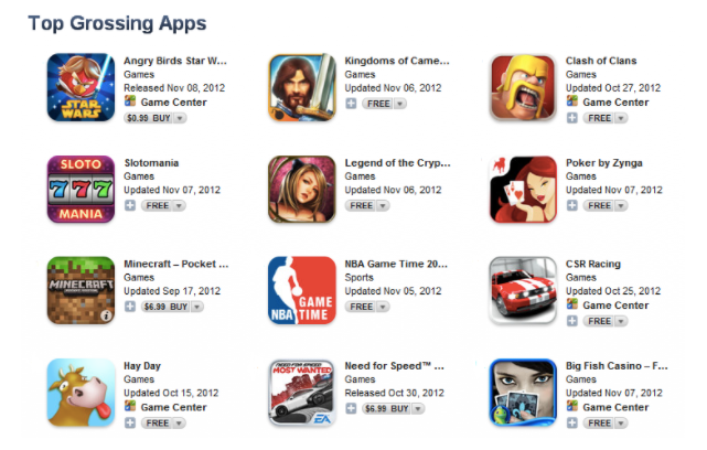 how to get a game on the app store
